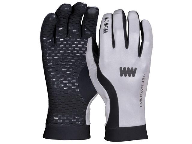 Wowow Dark 3.0 Cykelhandsker reflekterende grå/sort (2019) | Handsker
